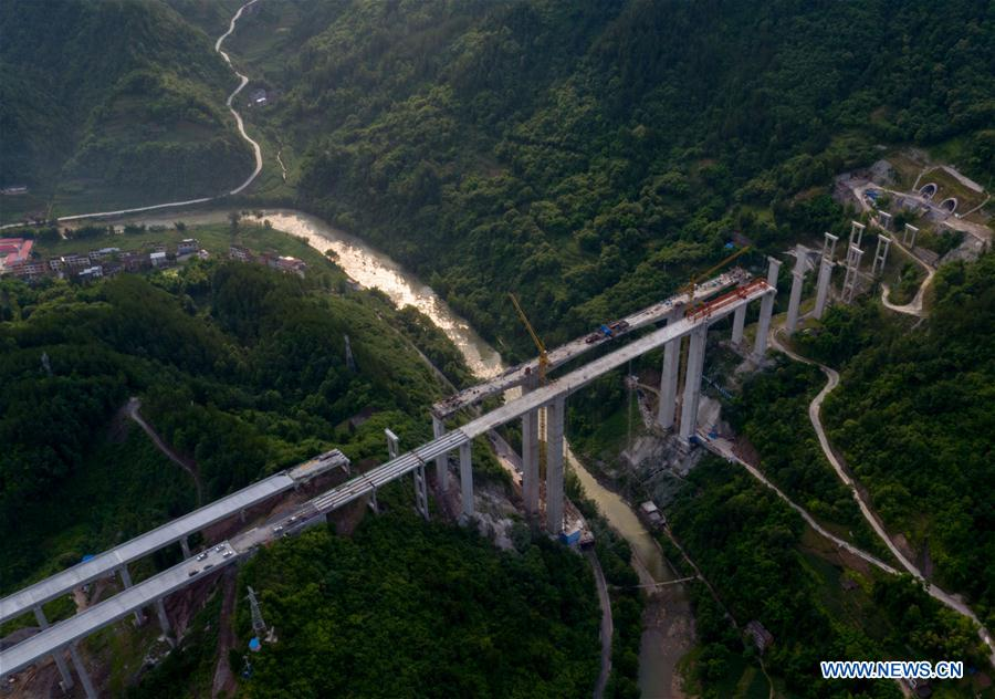 CHINA-CHONGQING-WANZHOU-LICHUAN HIGHWAY-CONSTRUCTION (CN)
