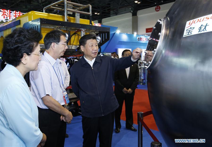 CHINA-BEIJING-XI JINPING-SCI-TECH INNOVATION EXHIBITION (CN)