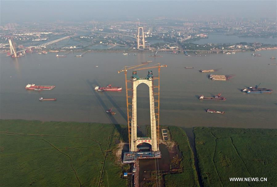 CHINA-HUNAN-BRIDGE-CONSTRUCTION (CN)