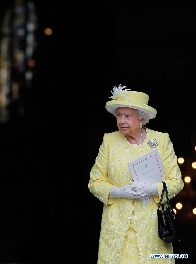 BRITAIN-LONDON-ROYAL-NATIONAL SERVICE OF THANKSGIVING