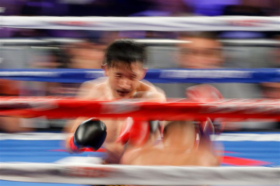 (SP)US-NEW YORK-WBO-ZOU SHIMING