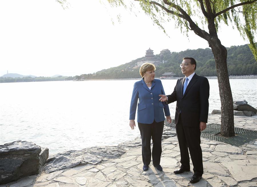 CHINA-BEIJING-LI KEQIANG-MERKEL-MEETING(CN)