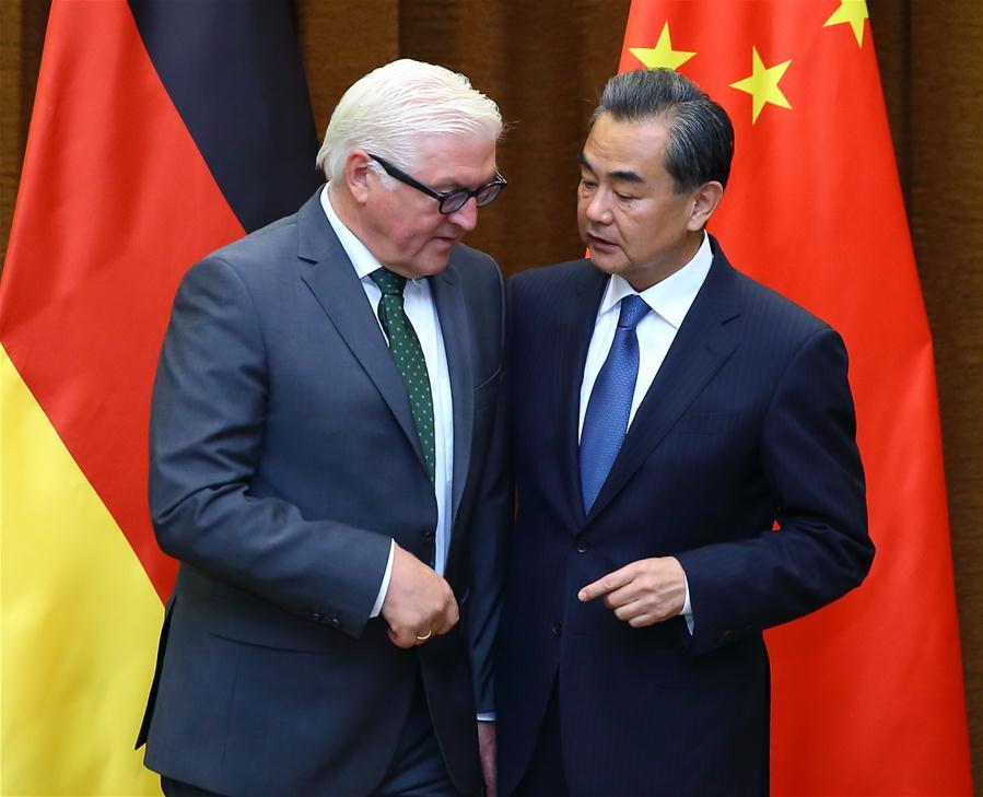 CHINA-BEIJING-WANG YI-GERMANY FM-MEETING(CN)