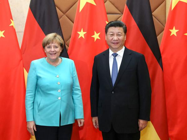Beijing tells Germany, EU to play fair