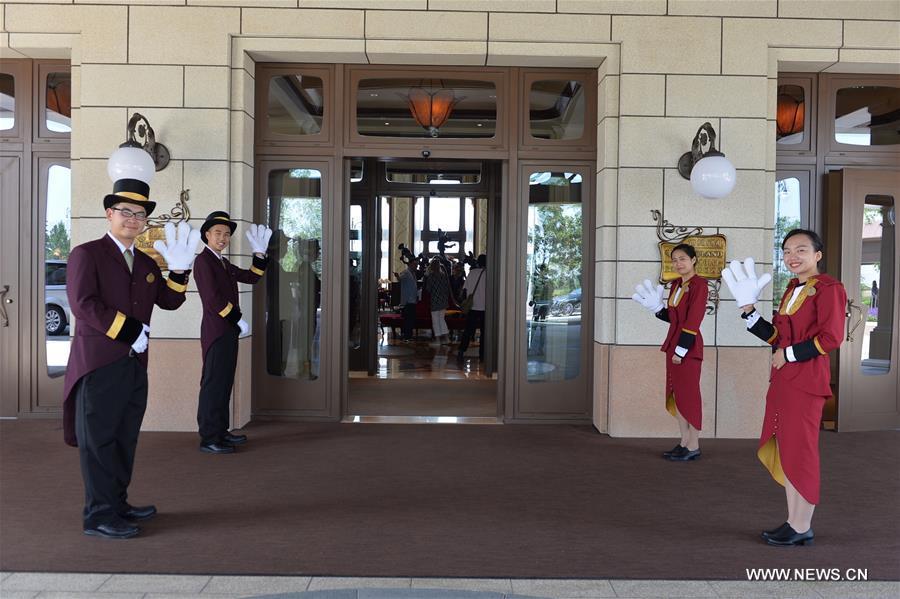 #CHINA-SHANGHAI-DISNEYLAND HOTEL (CN)