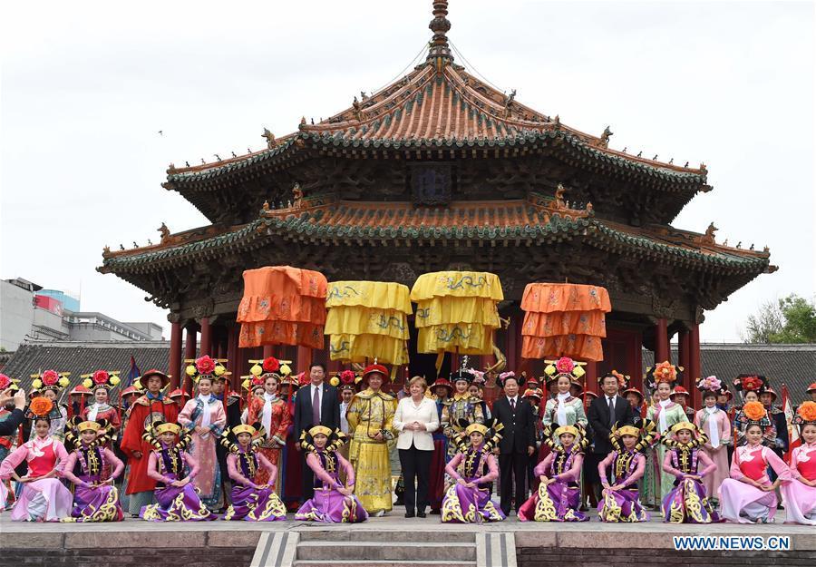 CHINA-SHENYANG-MERKEL-VISIT (CN)