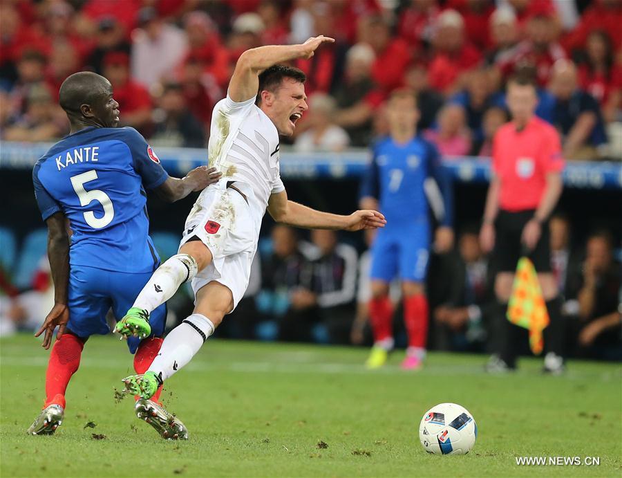 (SP)FRANCE-MARSEILLE-SOCCER-EURO 2016-GROUP A-FRANCE VS ALBANIA