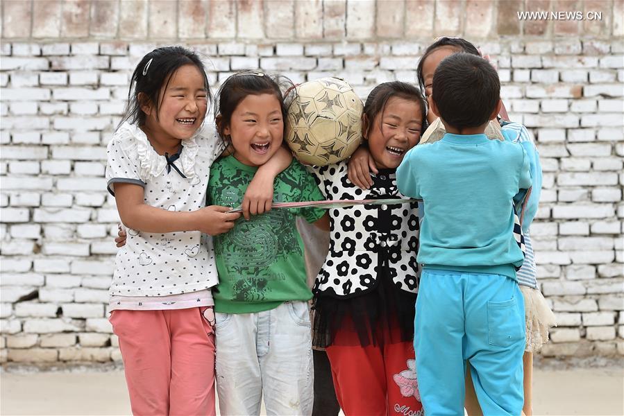 CHINA-SHANXI-RURAL CHILDREN-PE CLASS (CN)