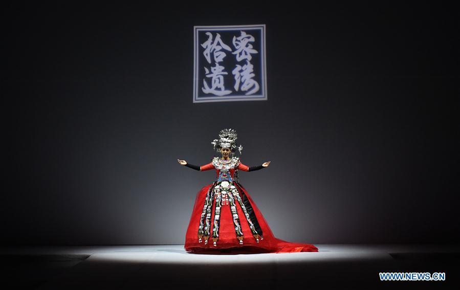 CHINA-BEIJING-FOLK COSTUME-SHOW (CN)