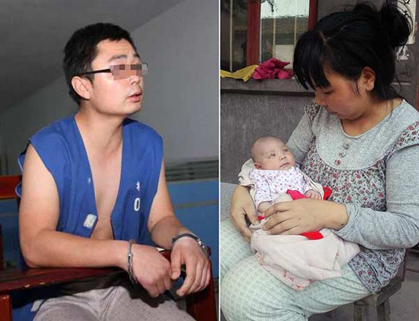 Father held for trying to kill baby