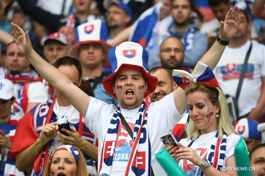 (SP)FRANCE-SAINT-ETIENNE-SOCCER-EURO 2016-GROUP B-ENGLAND VS SLOVAKIA