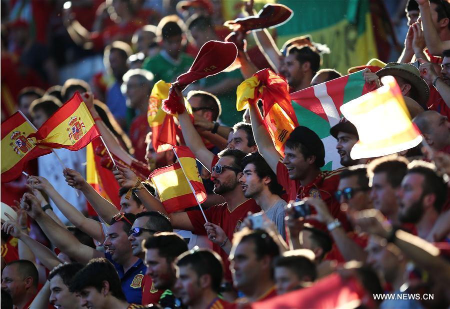 (SP)FRANCE-BORDEAUX-SOCCER-EURO 2016-GROUP D-SPAIN VS CROATIA