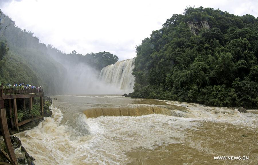 #CHINA-GUIZHOU-HUANGGUOSHU WATERFALL (CN)