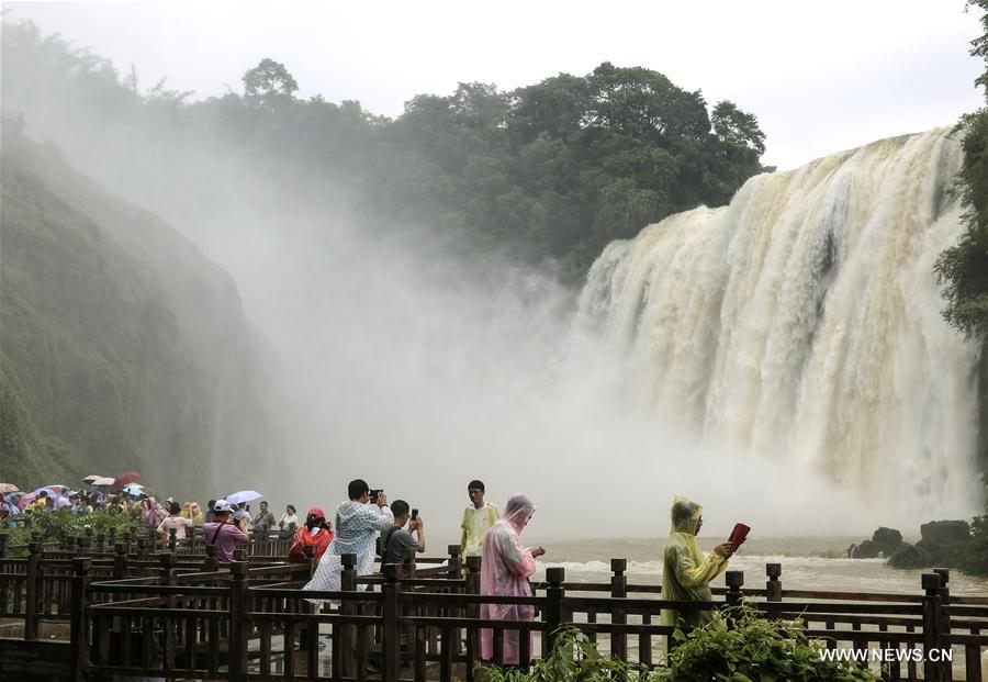 #CHINA-GUIZHOU-HUANGGUOSHU WATERFALL (CN)