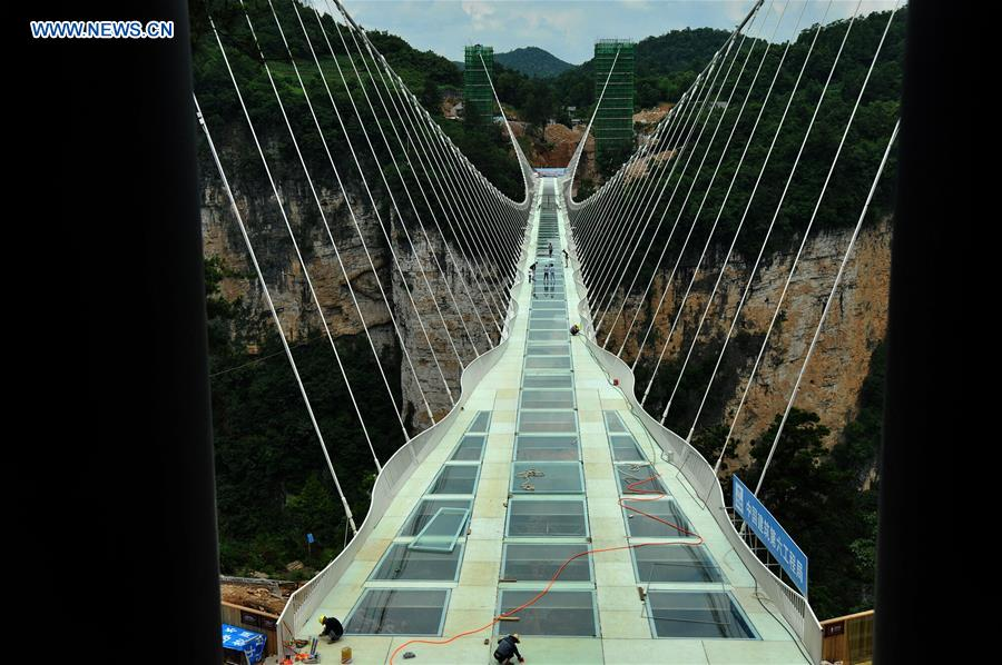 china hunan zhangjiajie glass bridge cn - Zhangjiajie Glass Bridge