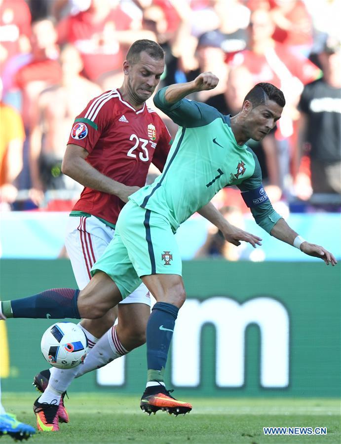 (SP)FRANCE-LYON-SOCCER-EURO 2016-GROUP F-PORTUGAL VS HUNGARY