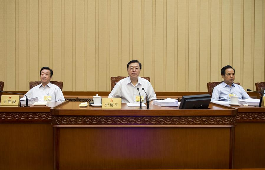 CHINA-BEIJING-ZHANG DEJIANG-NPC-MEETING(CN)
