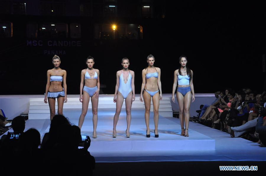 Latest Swimwear Designs By Top Int L Designers Showcased In Sri Lanka People S Daily Online