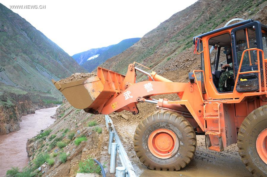 #CHINA-TIBET-CHUANZANG HIGHWAY-LANDSLIDE (CN*)