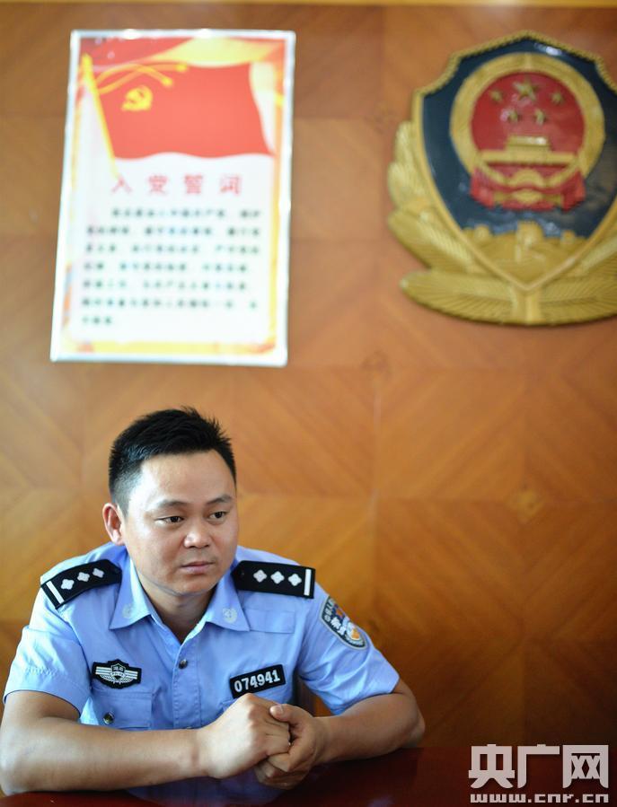 湖南华容80后缉毒民警胡光志:危急关头为群众挡子弹