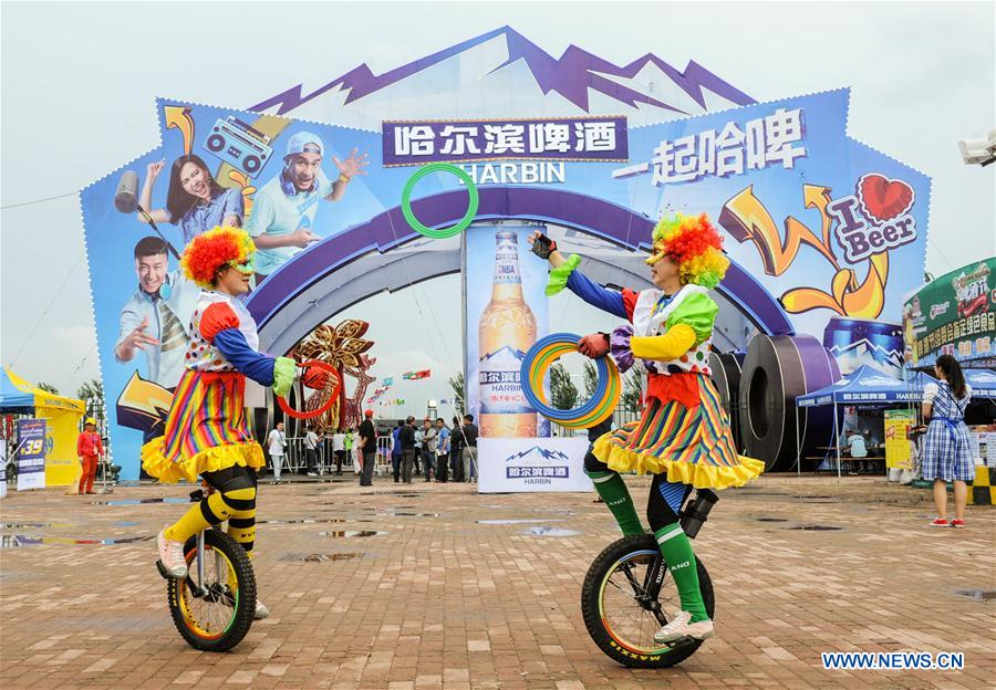 CHINA-HARBIN-INT'L-BEER FESTIVAL (CN)