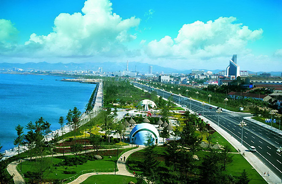 Weihai, Shandong Province, one of the 'top 10 livable Chinese cities' by China.org.cn.