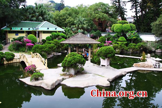 Xiamen, Fujian Province, one of the 'top 10 livable Chinese cities' by China.org.cn.