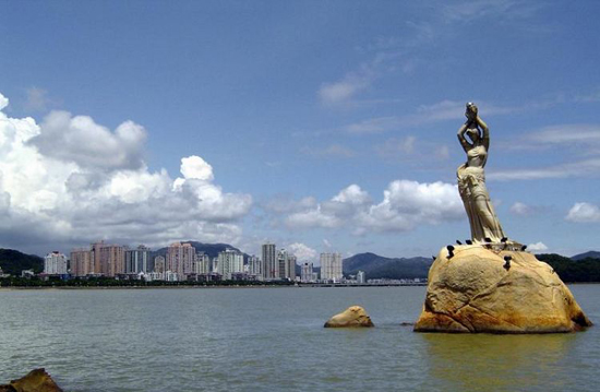 Zhuhai, Guangdong Province, one of the 'top 10 livable Chinese cities' by China.org.cn.