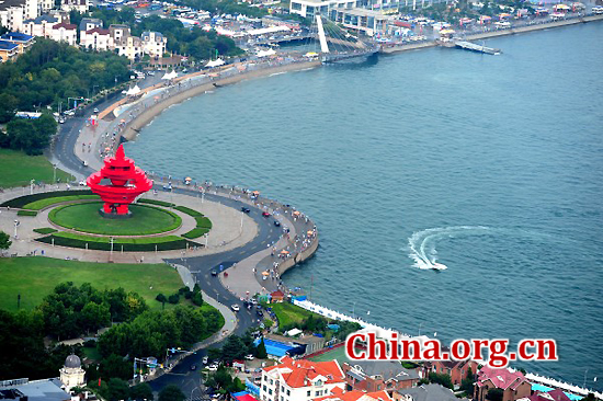 Qingdao, Shandong Province, one of the 'top 10 livable Chinese cities' by China.org.cn.