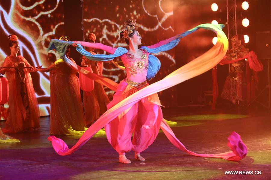 The 2016 Chinese Culture Festival in Russia kicked off here on Monday.