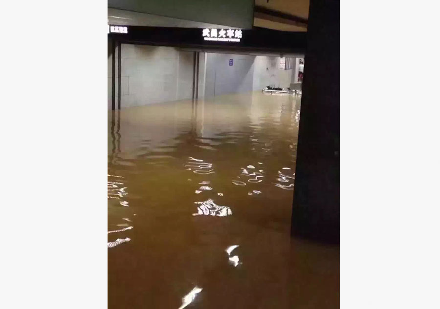 Continuous rainfalls affect millions of people across China