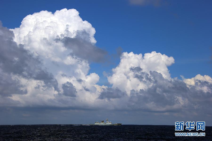 【原创】我海军南海大演习 - 白猿 - 沙海尘埃