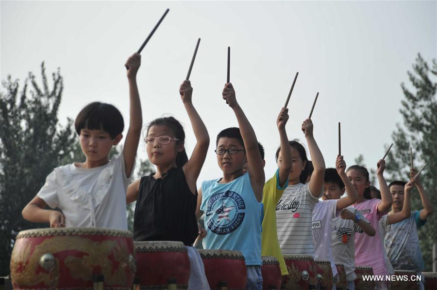 #CHINA-SHANXI-DRUM-CULTURAL HERITAGE (CN)