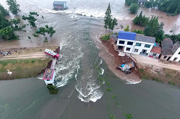 Challenges in store for flood control in the Yangtze River Basin