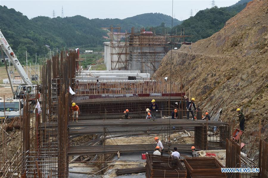 CHINA-HANGZHOU-HUANGSHAN HIGH SPEED RAILWAY-CONSTRUCTION (CN)