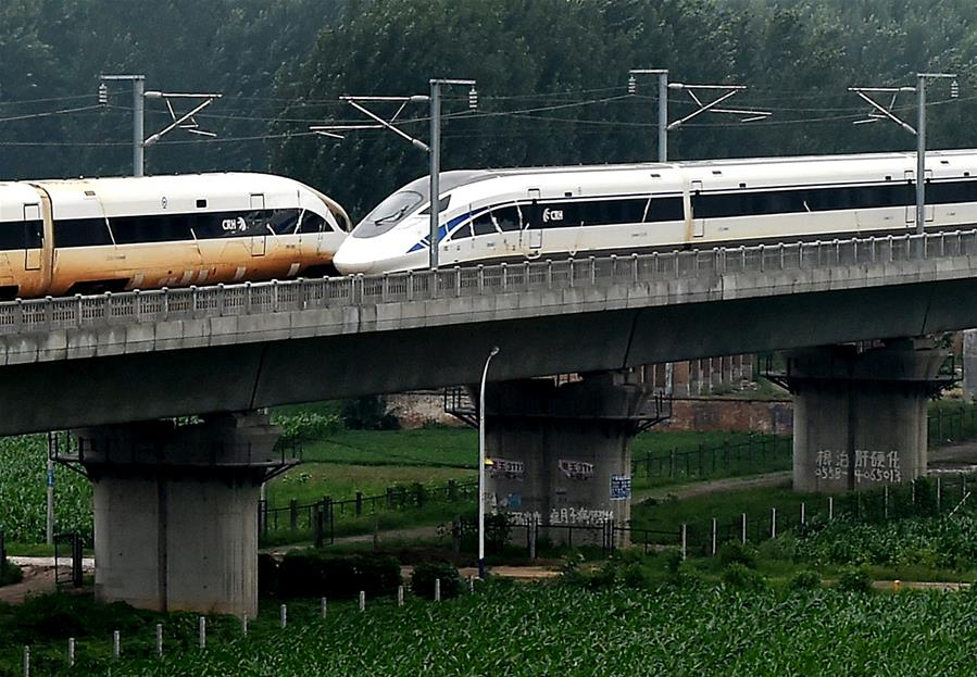 CHINA-BULLET TRAIN-WORLD RECORD (CN)