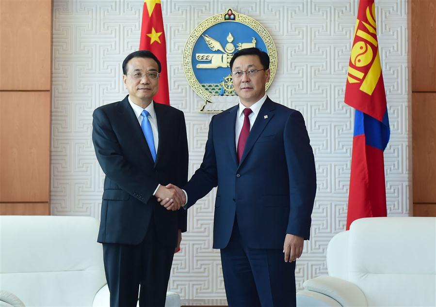 MONGOLIA-ULAN BATOR-CHINESE PREMIER-VISIT