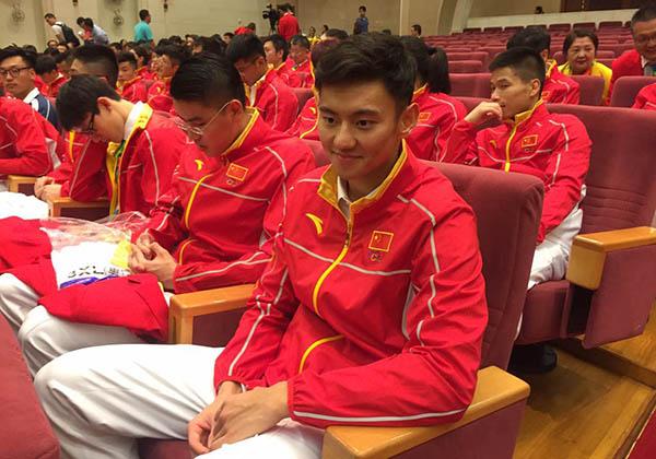Ning Zetao dismisses rumors of Rio exclusion