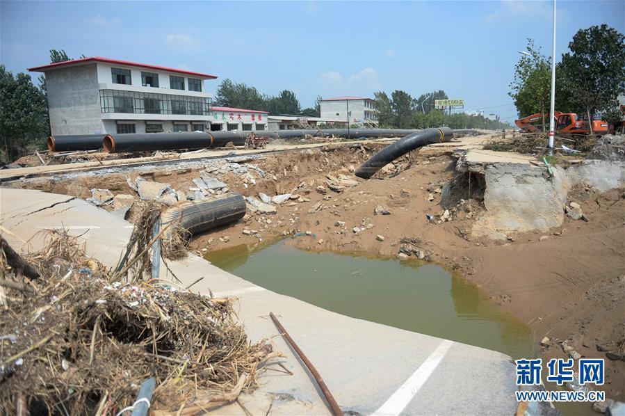 (抗洪救災)(1)河北洪災致904萬人受災 130人死亡