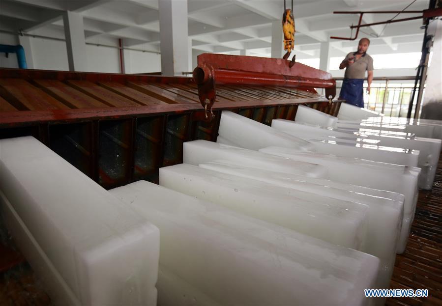 #CHINA-ZHEJIANG-ZHUJI-ICE MAKING (CN)