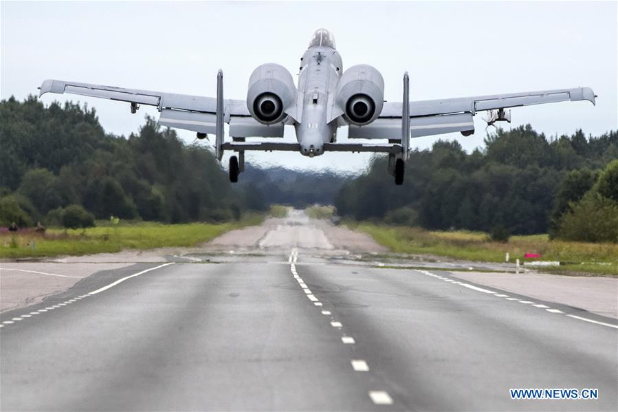ESTONIA-ANIJE-MILITARY TRAINING-US-AIR FORCE