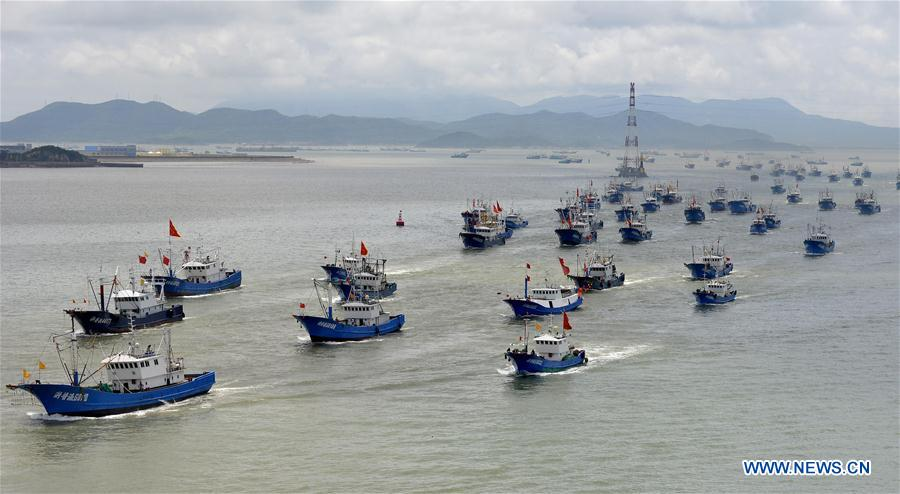 #CHINA-ZHEJIANG-ZHOUSHAN-FISHING OFF SEASON-END (CN)