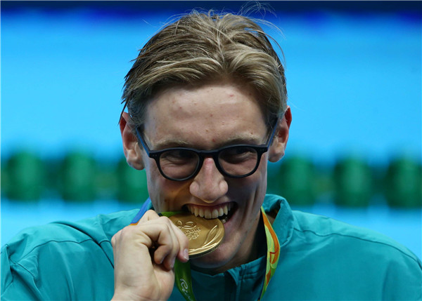 IOC to check into Aussie Horton's comment on Sun Yang