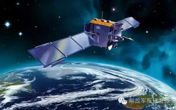 太空卫星模拟资料图