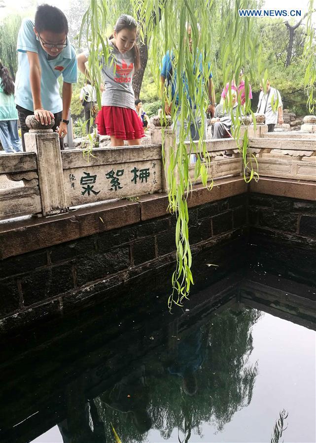 CHINA-JINAN-SPRING-SPRAY (CN)