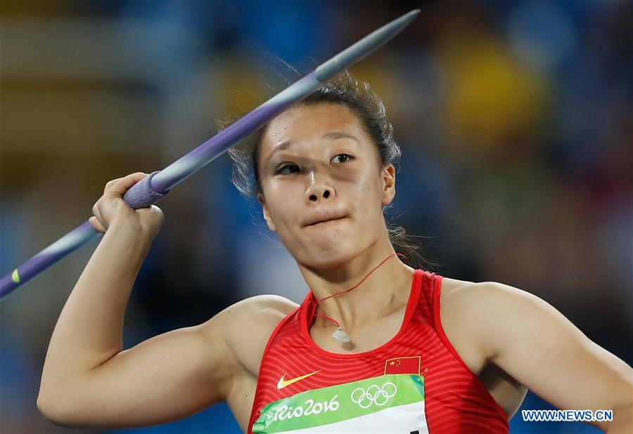 China's Lyn Huihui into women's javelin throw final