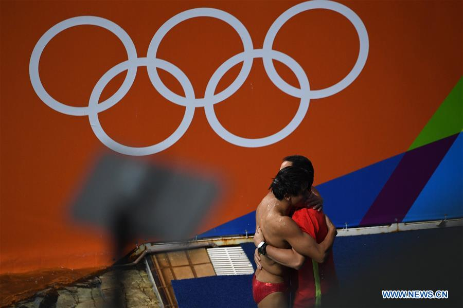 (SP)BRAZIL-RIO DE JANEIRO-OLYMPICS-DIVING