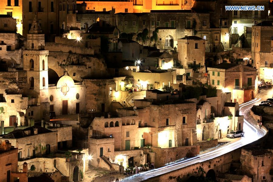 ITALY-MATERA-WORLD HERITAGE