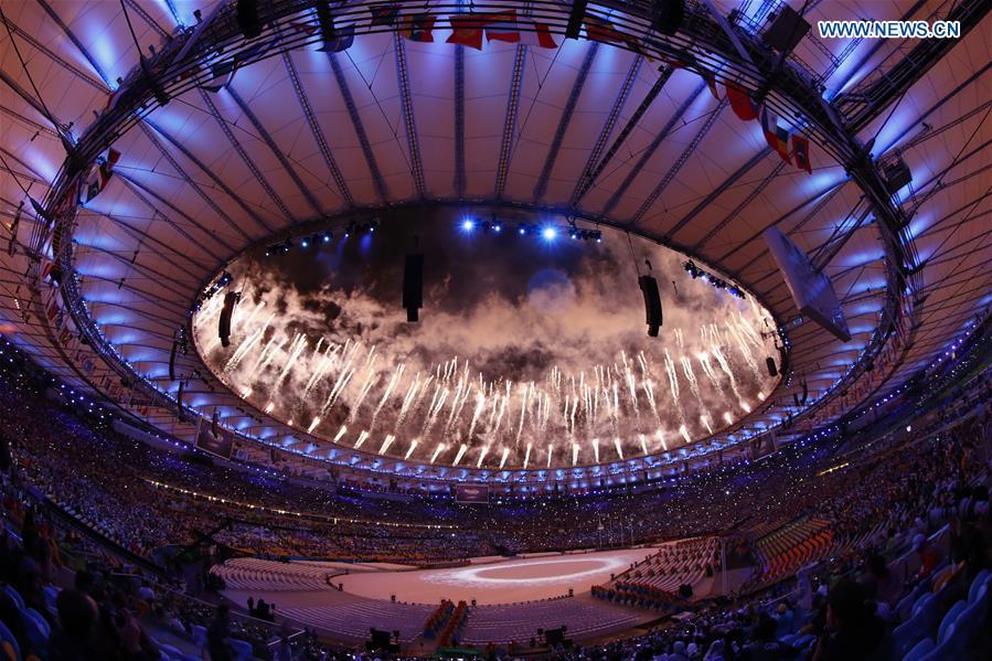(SP)BRAZIL-RIO DE JANEIRO-OLYMPICS-RIO 2016-CLOSING CEREMONY