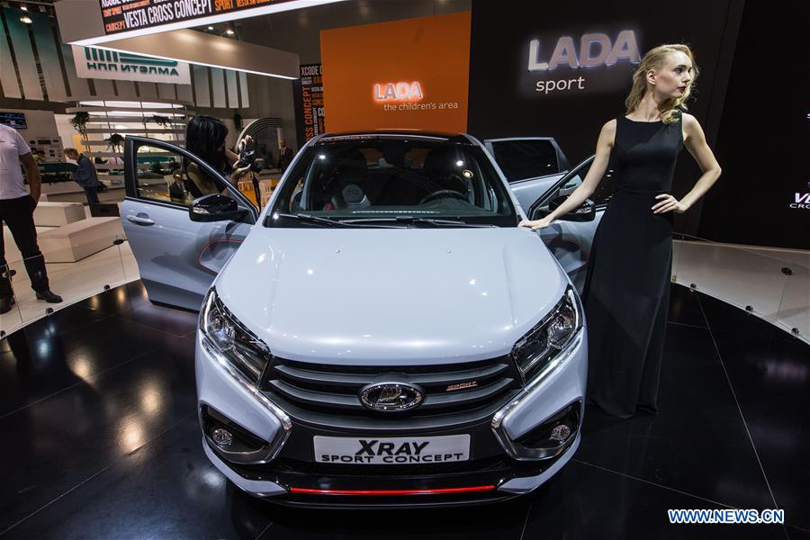 RUSSIA-MOSCOW-AUTO EXHIBITION